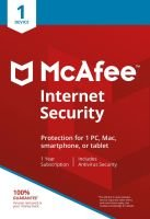 McAfee Internet Security 1 Device 1 Year Subscription - Electronic Software Download