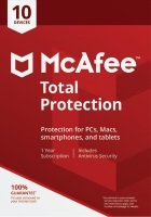 Mcafee Total Protection 10 Devices 1 Year Subscription - Electronic Software Download