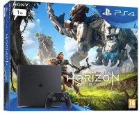 PS4 Slim 1TB Console - Black + Horizon zero dawn