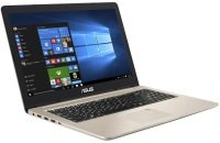"ASUS VivoBook Pro 15 N580VD-DM129T Intel Core i7, 15.6"", 8GB RAM, 1TB HDD and 128GB SSD, Windows 10, Notebook - Gold"