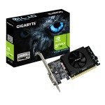 EXDISPLAY Gigabyte NVIDIA GT 710 2GB Low Profile Graphics Card