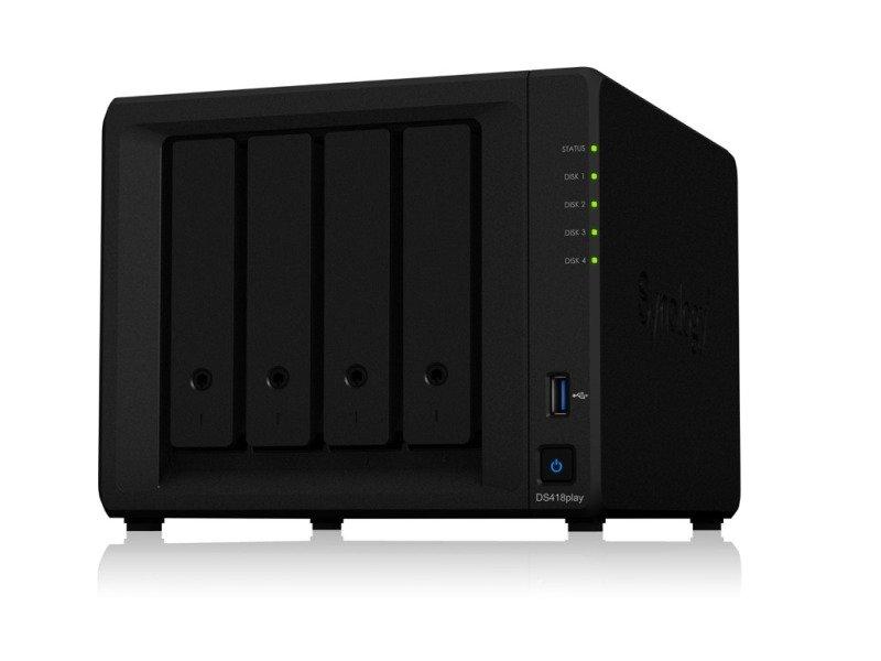 Synology DS418play 4 Bay Desktop NAS Enclosure