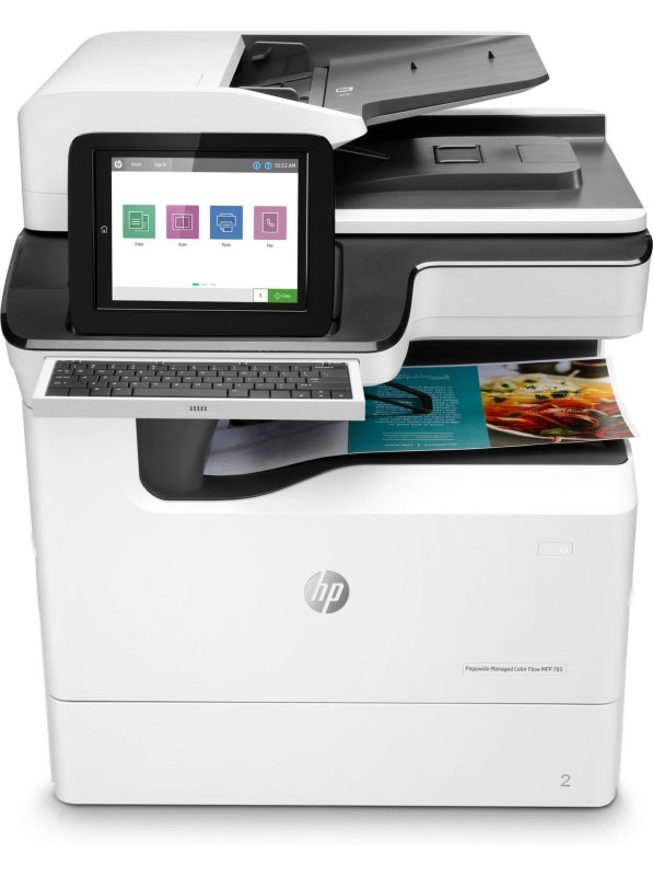 HP 785f PageWide Enterprise Colour MFP Printer