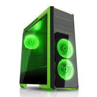 CIT Flash Mid Tower Black Green
