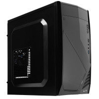 Aerocool CS102 Black Mid Tower Case