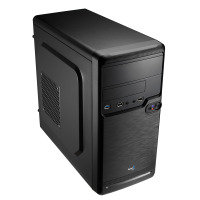 Aerocool QS182 Black Mini Tower Case
