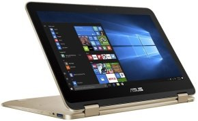 ASUS VivoBook Flip 12 TP203NA 2-in-1 Laptop - Gold