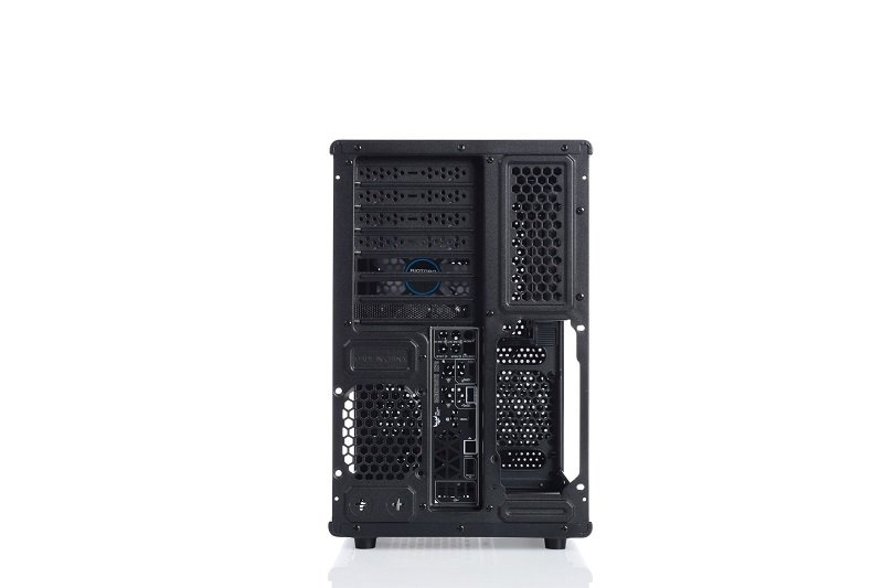 Riotoro Compact Inverted Atx Case Computer Cases Ebuyer