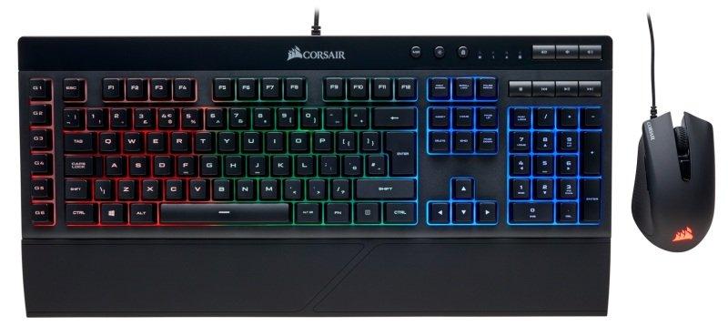 Corsair Gaming K55 + HARPOON RGB Keyboard and Mouse