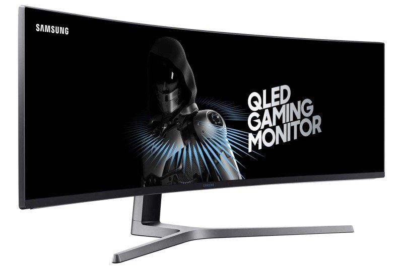 """EXDISPLAY Samsung C49HG90 49"""" Curved UltraWide Gaming Monitor"""