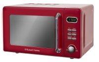 Russell Hobbs RHRETMD706R Retro 17 Litre Red Digital Microwave