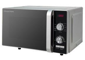 Russell Hobbs RHFM2001S 19 Litre Silver Flatbed Digital Microwave