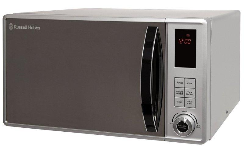 Russell Hobbs 23 Litre Silver Digital Microwave