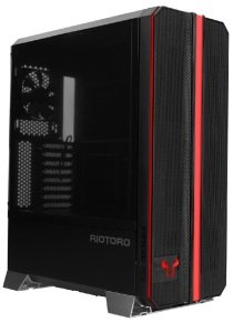 Riotoro RGB Front Panel Full Tower ATX Case