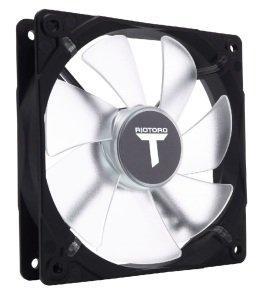 Riotoro Cross X Classic 120mm LED Case Fan White