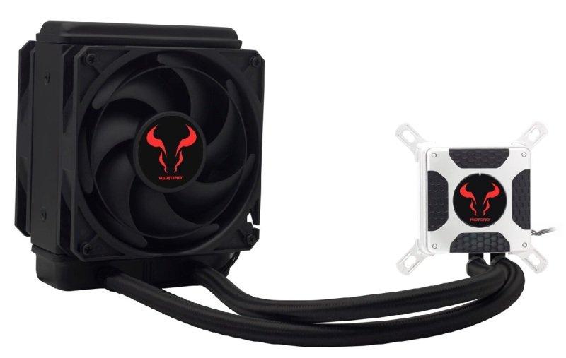 Riotoro 120mm Dual SP Fan Closed Loop Liquid Cooler