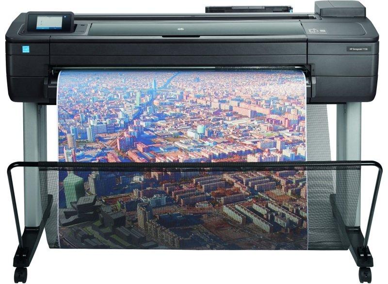 "HP DesignJet T730 36"" A0 Wireless Large Format Inkjet Printer"