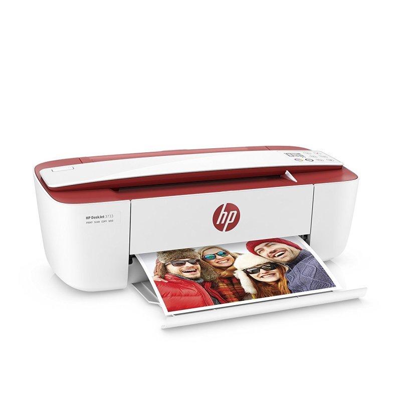 HP DeskJet 3733 All-in-One Multi-Function Inkjet Printer