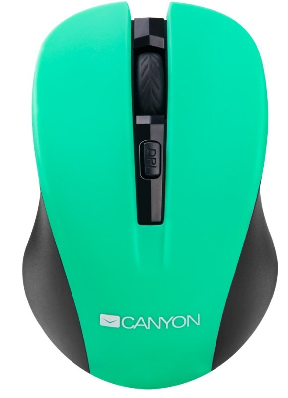 Canyon Green Wireless Mouse