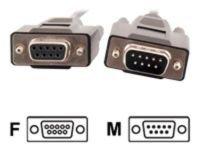 C2G, DB9 M/F Extension Cable Black, 5m