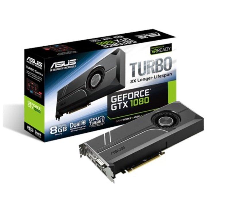 Asus GeForce GTX 1080 Turbo 8GB GDDR5X Graphics Card