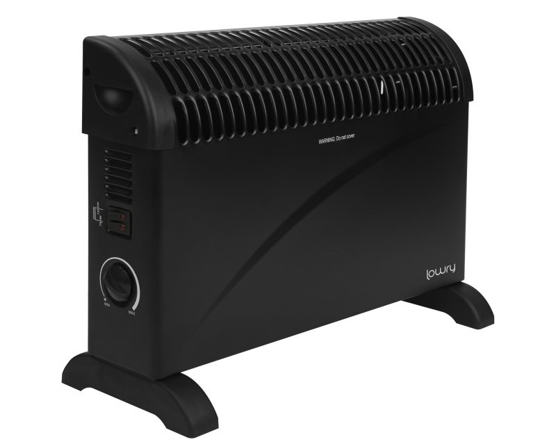 Lowry LCVH2003B 2KW onvection Heater - Black