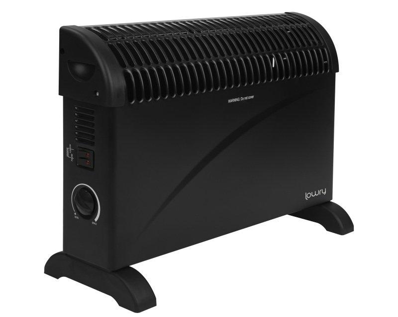Lowry LCVH2003B 2KW onvection Heater - Black