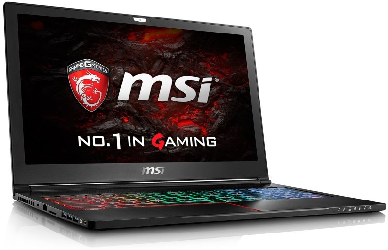 "MSI GS63 7RD Stealth NVIDIA GTX 1050 2GB Gaming Laptop, Kabylake i7-7700HQ 2.8GHz, 8GB RAM, 1TB HDD, 128GB SSD, 15.6"" Full HD, Bluetooth, Windows 10 Home"