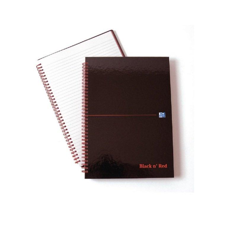 Image of Black n' Red Polypropylene A4 Notebook Ruled Margin
