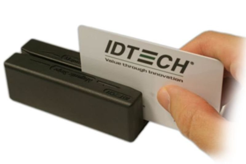 Image of ID Tech MiniMag II Magnetic Stripe Reader - Serial Interface