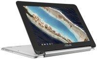 "ASUS Chromebook Flip C101PA FS002 Rockchip Cortex-A72 + Cortex-A53, 10.1"", 4GB RAM, 16GB eMMC, Chrome OS, Chromebook - Silver"