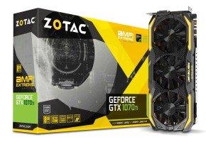 ZOTAC GTX 1070 Ti AMP! Extreme Edition 8GB GDDR5 Graphics Card