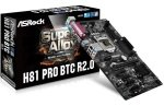 EXDISPLAY *ASRock H81 Pro R2.0 BTC Mining Motherboard