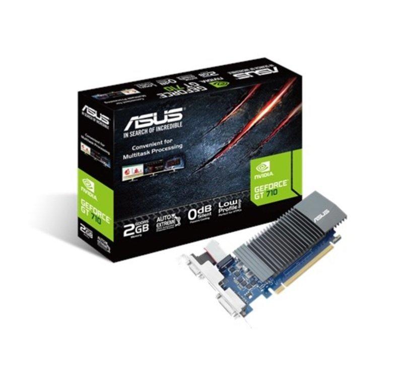 EXDISPLAY Asus GeForce GT 710 2GB GDDR5 Graphics Card