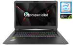 £1679.97, PC Specialist Defiance IV V17-GTR Laptop, Intel Core i7-7700HQ 2.80GHz, 16GB RAM + 500GB SSD + 1TB HDD, 17.3inch Full HD + WIFI + BT, NVIDIA GeForce GTX 1070 8GB, Windows 10 Home + 3 Year Warranty,