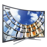 "Samsung UE55M6300 55"" Curved 1080p Full HD LED Smart TV with Freeview HD UE55M6300AKXXU"