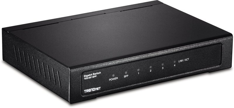 Trendnet 4-Port Gigabit Switch with SFP Slot