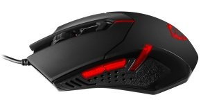 MSI Interceptor DS B1 Gaming Mouse with weights