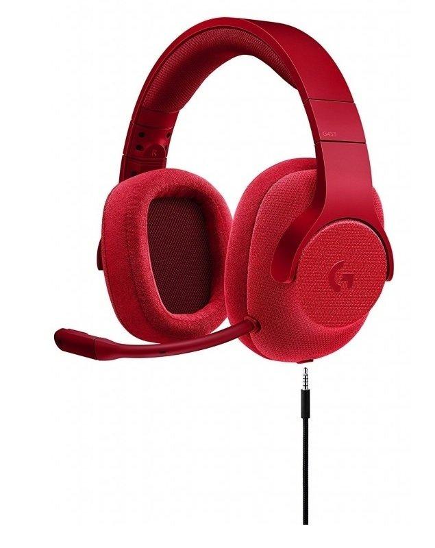 Logitech G433 Red Headset