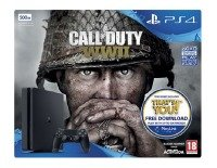 PS4 500GB with COD WW2