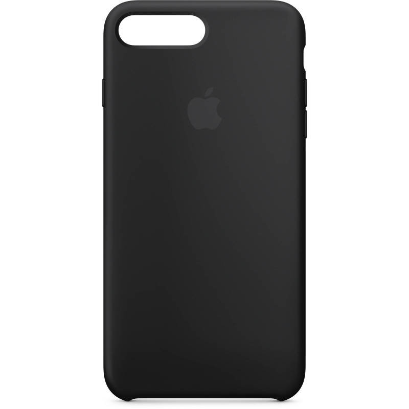 Apple iPhone 7 8 Plus Silicone Case - Black cheapest retail price