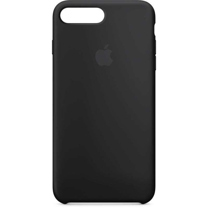 Apple iPhone 7 8 Plus Silicone Case - Black
