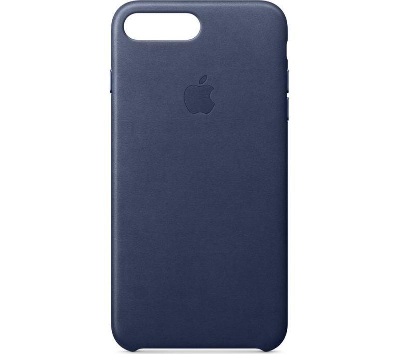 Apple iPhone 7 8 Plus Leather Case - Midnight Blue