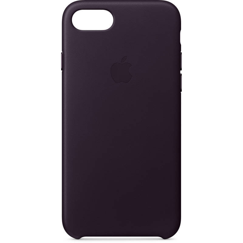 Apple iPhone 8 / 7 Leather Case - Dark Aubergine cheapest retail price
