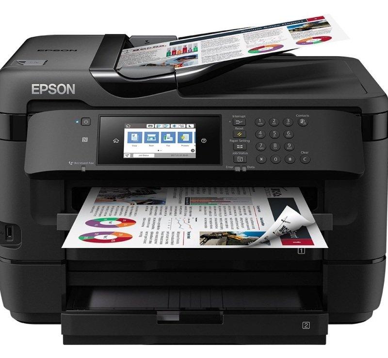 Epson Workforce Wf-7720dtwf Inkjet Printer