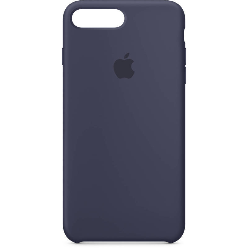 Apple iPhone 7 8 Plus Silicone Case - Midnight Blue