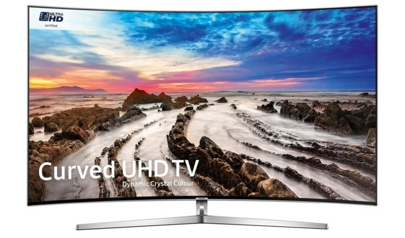 "SAMSUNG 65"" MU9000 Curved Dynamic Crystal Colour Ultra HD certified 4K HDR 1000 Smart TV"