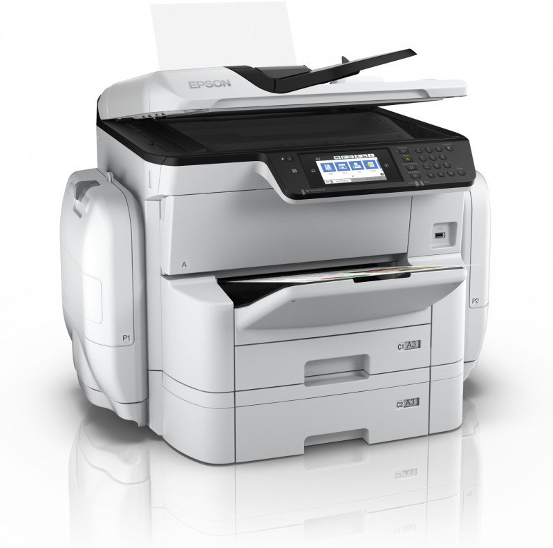 Epson WorkForce Pro WF-C869RDTWF Inkjet Printer