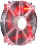 Cooler Master MegaFlow 200 Red LED Fan - 200mm, 700RPM