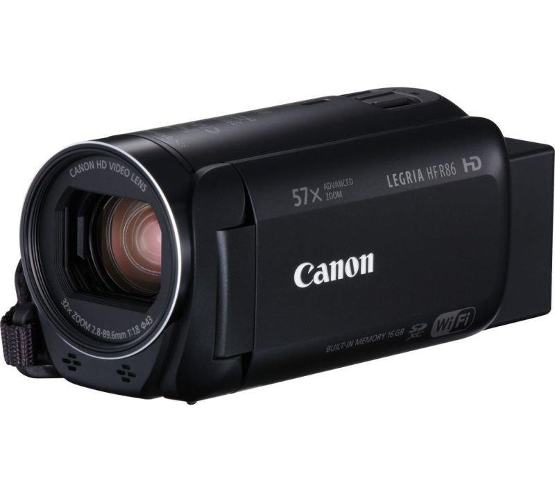 Image of Canon Legria HF R86 Black Camcorder Kit inc 32GB SD Card & Case